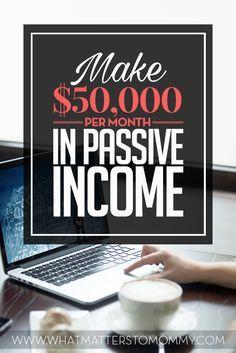 Make $50,000 per month in affiliate income