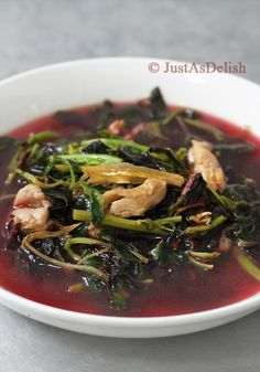 Cuisine paradise singapore food blog recipes reviews and travel chinese spinach soup with dried anchovies justasdelish healthy malaysian malaysian recipesmalaysian foodasian forumfinder Choice Image