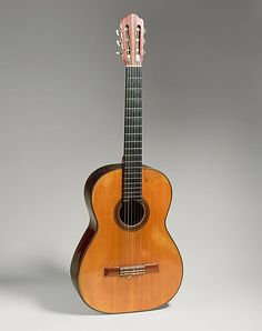 Guitar (Hermann Hauser) - as found in the Metropolitan Museum of Art (New York). Played by Andres Segovia.