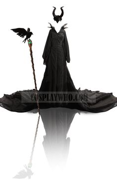 Maleficent Witch Dress | Cosplaywho.com  This looks pretty spot on! All three pieces for around $200!