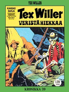 Tex Willer -kronikka 39: Veristä hiekkaa. #egmont #sarjakuva #sarjis