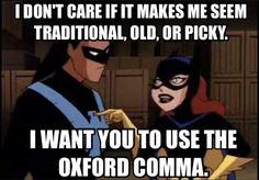 """Because vintage and retro is cool. Grammar Jokes, Good Grammar, Grammar And Punctuation, Teaching Career, Teaching Tools, Teaching Ideas, Writer Humor, I Am A Writer, Word Nerd"