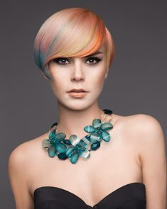 Beautiful, soft hair color