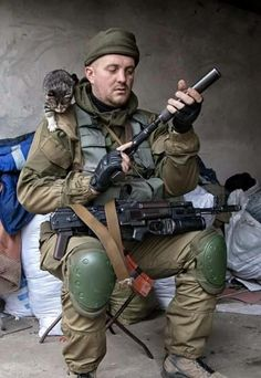 Spetsnaz using AK variant with GL and pistol with suppressor