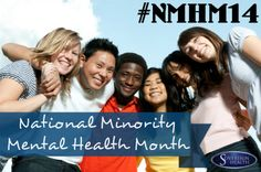 """It's Minority Health Month! How will you raise awareness about health equity & minority health?   Check out our newest blog """"National Minority Mental Health Month"""" at: http://www.sovcal.com/mental-health/national-minority-mental-health-month/ #NMHM14 #MentalHealth #MentalHealthAwareness"""