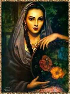 Gypsy art Jesus helguera