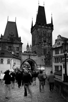 Charles Bridge Black White Photos, Black And White, Charles Bridge, Praha, Free Black, Public Domain, Barcelona Cathedral, Street, Building