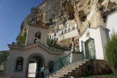 Бахчисарай. Бахчисарайский Свято-Успенский пещерный монастырь