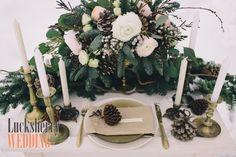 Зимняя свадьба winter wedding decor