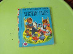 Vintage 1953 The Treasure Book Of Favorite Nursery by peacenluv72, $11.50