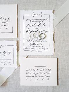 Olive Branch & Co - Calligraphy Invitation - Laurelyn Savannah