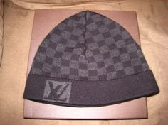 Check Out This Authentic Guide On Louis Vuitton Beanie Hats From The Damier Collection Perfect For Winter Wear Beanies, Beanie Hats, Louis Vuitton Hat, Cashmere Hat, Looking To Buy, Winter Wear, Caps Hats, Versace, Headbands