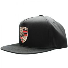 Dope Stuggart Snapback This bold black snapback hat features  polyester cotton twill fabrication with an adjustable sizing closure found  at back of hat. 389300c0886e