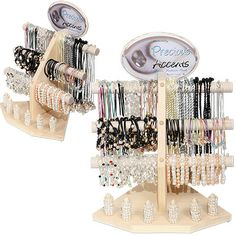 Freshwater pearl jewelry display from Monster Trendz   DK-392-PAX