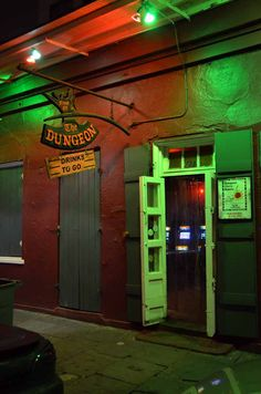 The Dungeon, New Orleans, Louisiana