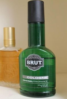 Brut, I believe every guy in HS wore it.