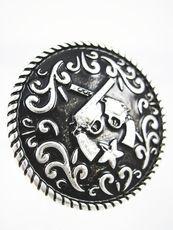Pistol Concho Ring