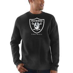 Oakland Raiders Majestic Critical Victory Sweatshirt - Black