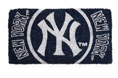 Amazon.com : MLB New York Yankees Welcome Mat : Doormats : Sports & Outdoors