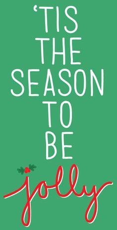 Tis the season to be #jolly