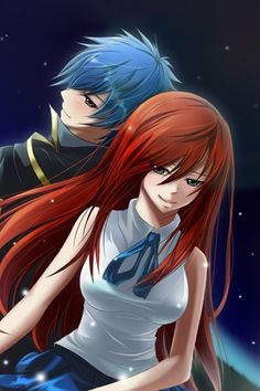 Erza and Jellal <3 <3 <3 <3 <3 <3 <3 <3 <3 <3 <3