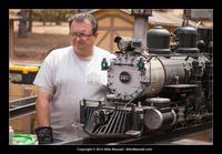 2-8-0 D 223 Live Steam Locomotive, Model Trains, Westerns, Backyard, Big, Templates, Patio, Backyards