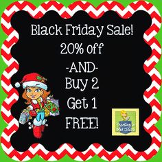 Teaching in Blue Jeans: Black Friday Sale!