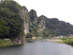 Ao no domon tunnel Oita, Japan, River, Amazing, Places, Outdoor, Outdoors, Outdoor Games, The Great Outdoors