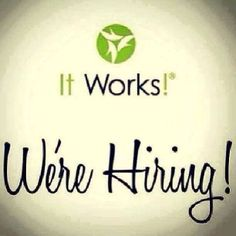 Become an It Works! Distributor and make extra cash!!! It can change your life, all while helping others change theirs!!  www.slimandtonewithcheryl.com