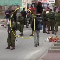 Il soldato israeliano che ha sparato al palestinese a terra inerme