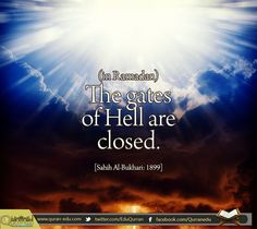 "Daily #Hadith  مَوْلَى التَّيْمِيِّينَ أَنَّ أَبَاهُ، حَدَّثَهُ أَنَّهُ، سَمِعَ أَبَا هُرَيْرَةَ ـ رضى الله عنه ـ يَقُولُ قَالَ رَسُولُ اللَّهِ صلى الله عليه وسلم "" إِذَا دَخَلَ شَهْرُ رَمَضَانَ فُتِّحَتْ أَبْوَابُ السَّمَاءِ، وَغُلِّقَتْ أَبْوَابُ جَهَنَّمَ، وَسُلْسِلَتِ الشَّيَاطِينُ  #Narrated Abu Hurairah: Allah's Messenger (peace be upon him) said: ""When the month of #Ramadan starts, the gates of the heaven are opened and the gates of Hell are closed and the devils are…"