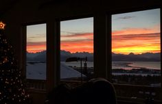 Janie's sunrise, just for her in Homer