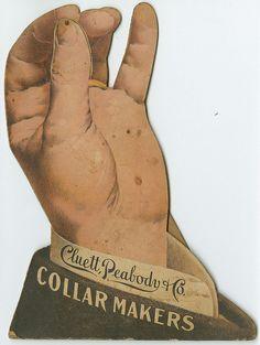 Cluett, Peabody & Co., collar makers, ca. 1900 trade card