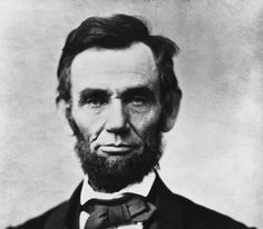 Abraham Lincoln the 16th President of the US. During his time he freed the slaves and did many other things.