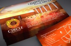 The Circle Events Place Corporate Identity by bobby galvez, via Behance