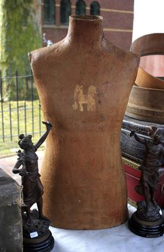Antique french male mannequin/ tailor's by LaChineuseFrancaise