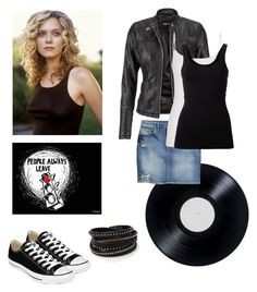 One Tree Hill: Peyton Sawyer by erin-plunkett on Polyvore featuring polyvore, fashion, style, Burton, maurices, H&M, Theory and Converse