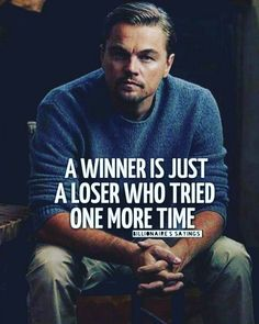 Read best quotes from Leonardo Dicaprio for motivation. Read best quotes from Leonardo Dicaprio for motivation. Leo Dicaprio's quote images are best source of inspiration specially for youngster & entrepreneurship with success. Motivation Positive, Positive Quotes, Motivational Quotes, Quotes Inspirational, Morning Motivation, Quotes About Positivity, Failure Quotes Motivation, Positive Images, Positive Attitude
