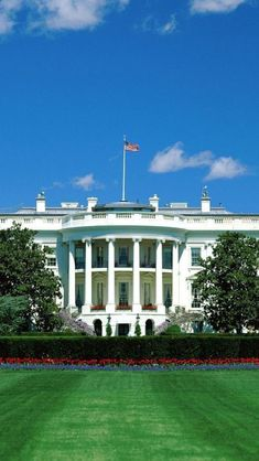 The White House, USA. Visit Pennsylvania Avenue for a gleaming close-up of American presidency.