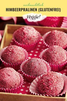 Make raspberry chocolates yourself! Making 10, Pin Collection, Gourmet Recipes, Meal Planning, Raspberry, Muffin, Food And Drink, Sweets, Pasta