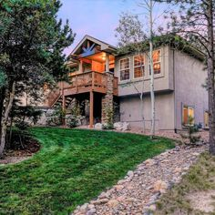 Exquisite ranch style home in the area of Greenland Preserve in Monument on a beautifully landscaped private 0.52 acre lot. Palmer Lake, Monument Colorado, Thing 1, Window Wall, Ranch Style, Gas Fireplace, Home Theater, Hearth, French Doors