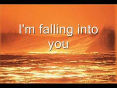 "Celine Dion ""Falling into you"" with lyrics, another great one that I love…"