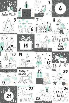 Christmas Cards, Christmas Decorations, Christmas Ideas, Advent Calendar, Diy And Crafts, Doodles, Diagram, Printables, Handmade
