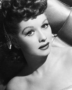 Lucille Ball in her 30's // Thirty Inspiration: Women We Love When They Were In Their 30's.