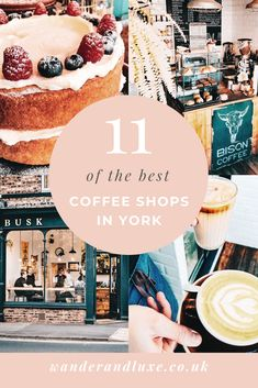 A Coffee Lover's Guide to Coffee Shops in York, UK - Wander & Luxe Coffee Carts, Coffee Shops, Coffee Lovers, New York Travel, Usa Travel, Days Out In London, York Uk, Drinking Around The World, Best Coffee Shop