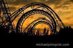 Afbeeldingsresultaat voor abandoned roller coasters
