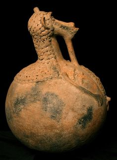 Spirit pot. (Mbirhlen'nda) Ga'anda peoples who live in the hills east of the river Gongola and its main tributary, the Hawal, in Nigeria.