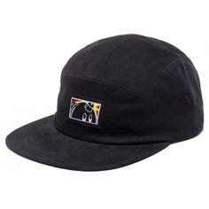 The Hundreds Caddy 5 Panel Strapback Hat (Black) $31.95 Strapback Hats, The Hundreds, Baseball Hats, Black, Fashion, Moda, Baseball Caps, Black People, Fashion Styles
