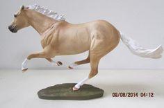 Breyer Custom Smarty Jones Model Horse By Deb Brown of the UK