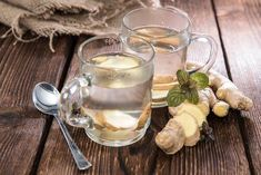 Learn how to make ginger tea, which is a marvel for soothing sick tummies and easing digestion. Besides, ginger tea is rich for vitamin C, magnesium and amino acids. Tea Recipes, Cooking Recipes, Cooking Food, Getting Rid Of Phlegm, Health Benefits Of Ginger, Ginger Essential Oil, Natural Kitchen, Natural Home Remedies, Gut Health